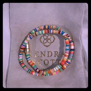 Kendra Scott beaded wrap bracelet